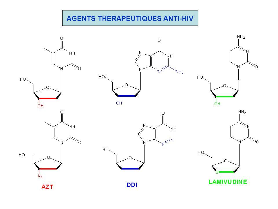 AGENTS THERAPEUTIQUES ANTI-HIV