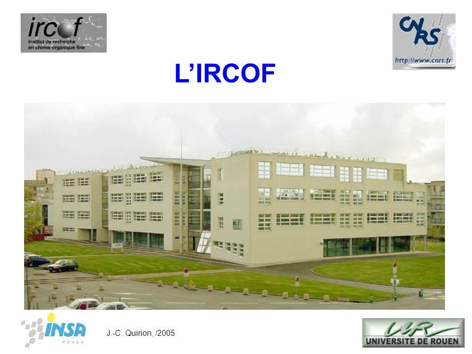 L'IRCOF J.-C. Quirion, /2005