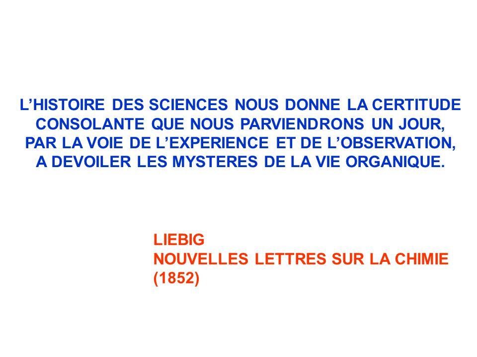 L'HISTOIRE DES SCIENCES NOUS DONNE LA CERTITUDE