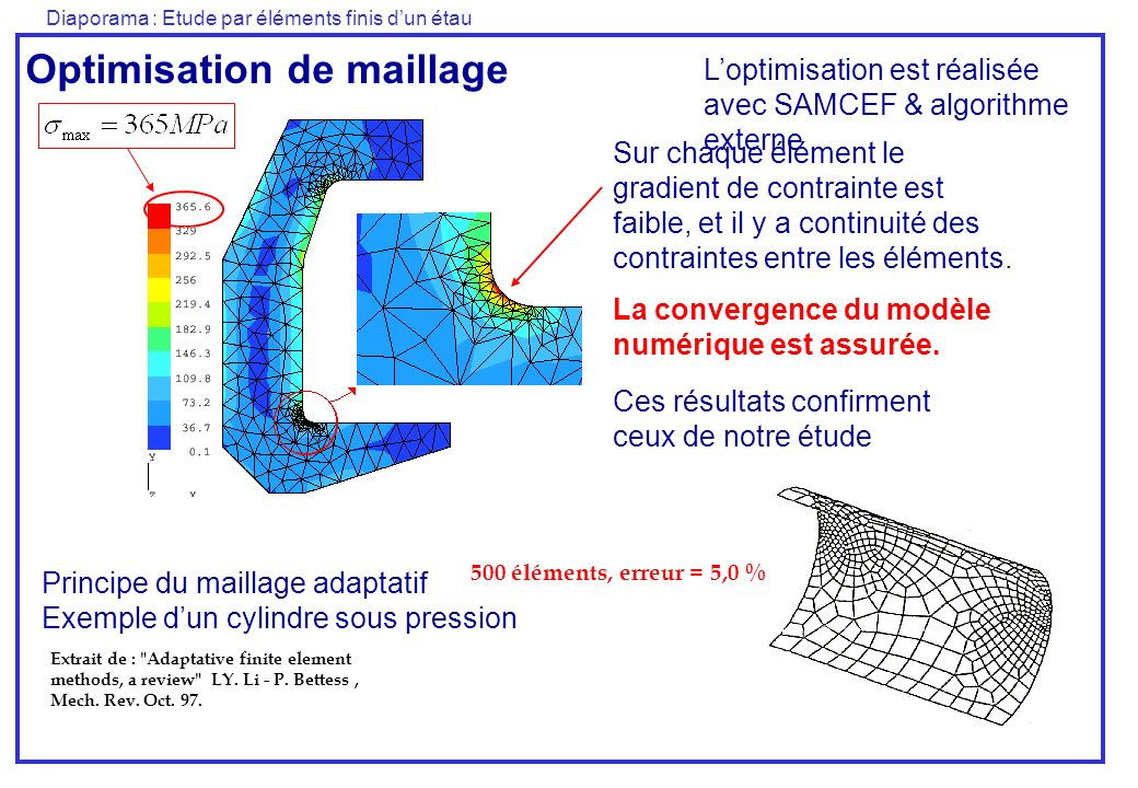 Optimisation de maillage