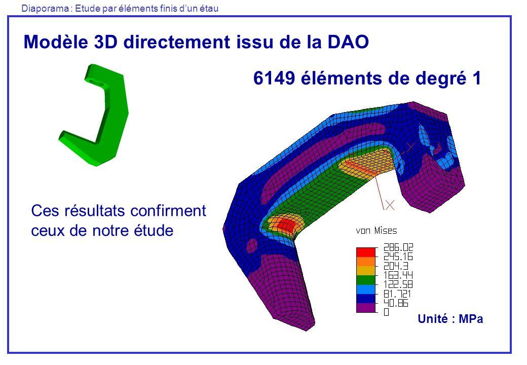 Modèle 3D directement issu de la DAO