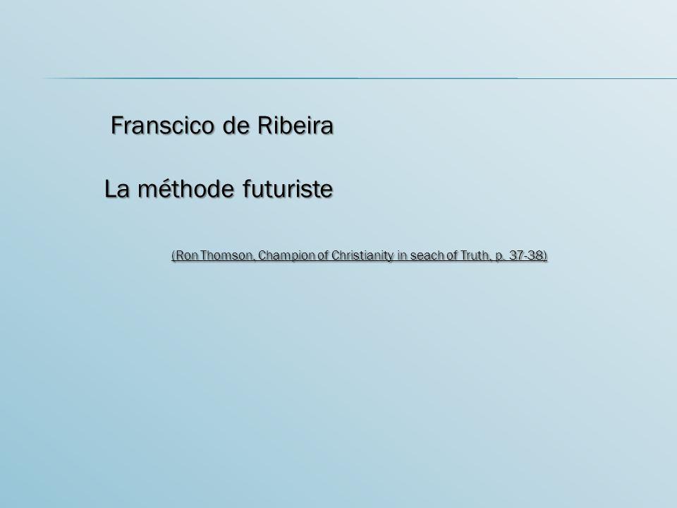 Franscico de Ribeira La méthode futuriste.