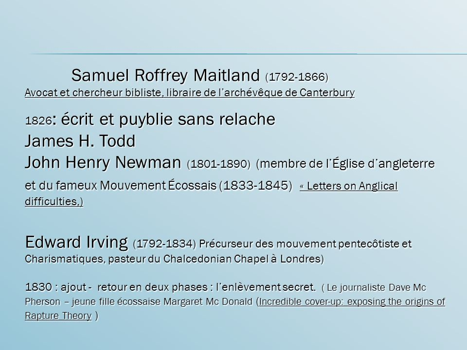 Samuel Roffrey Maitland (1792-1866)