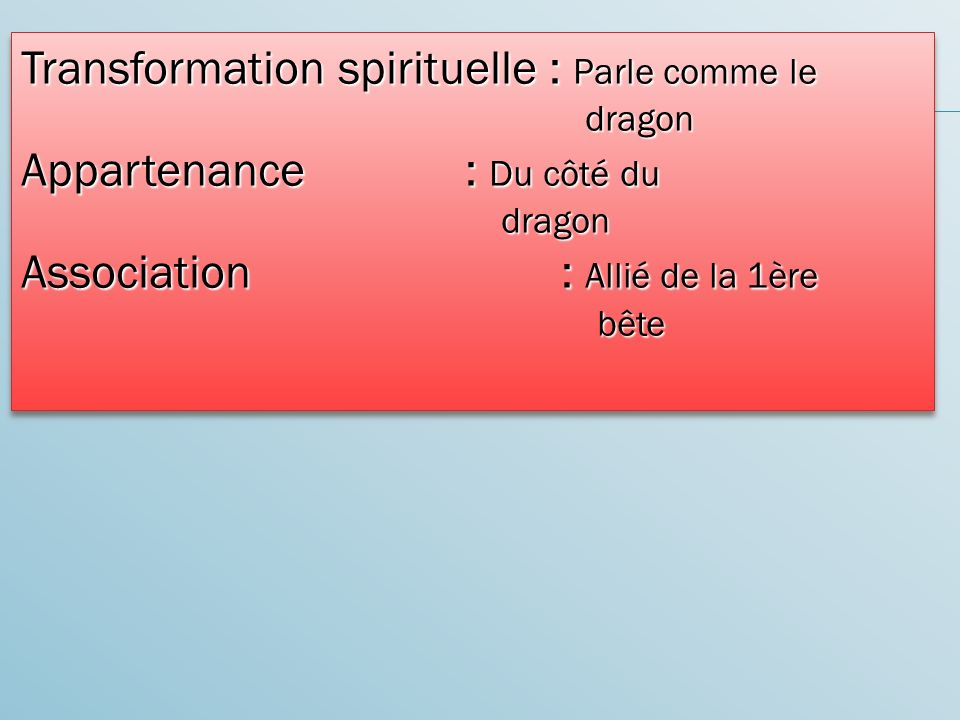 Transformation spirituelle : Parle comme le dragon