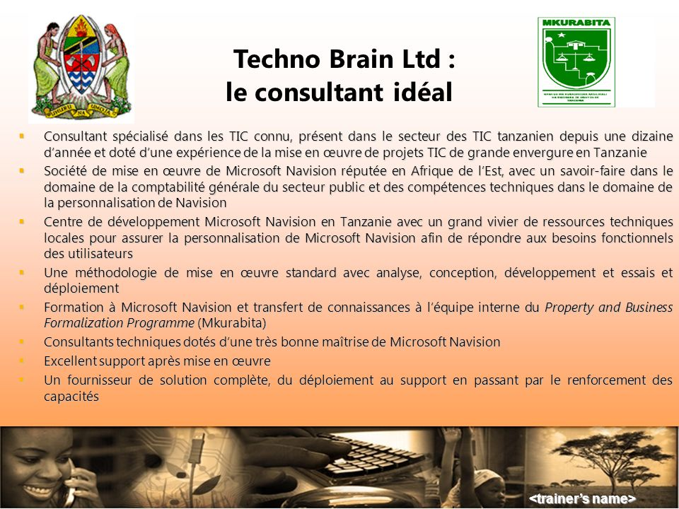 Techno Brain Ltd : le consultant idéal