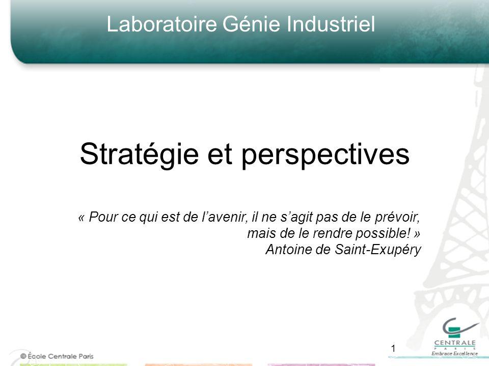 Stratégie et perspectives