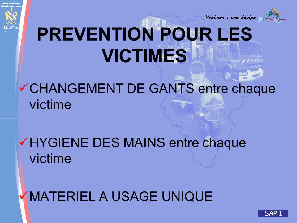 PREVENTION POUR LES VICTIMES