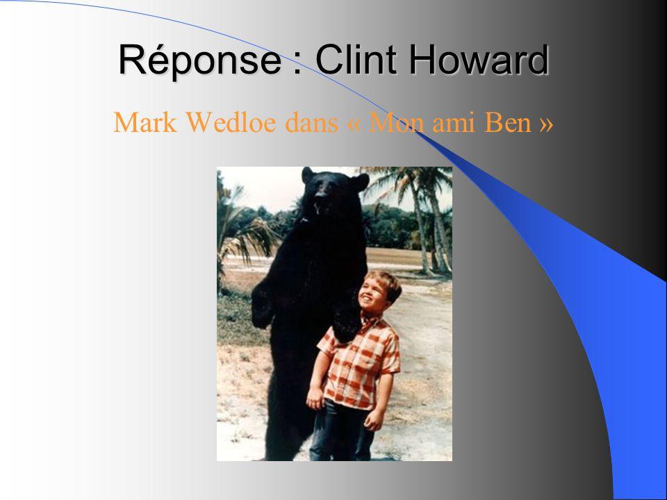 Mark Wedloe dans « Mon ami Ben »