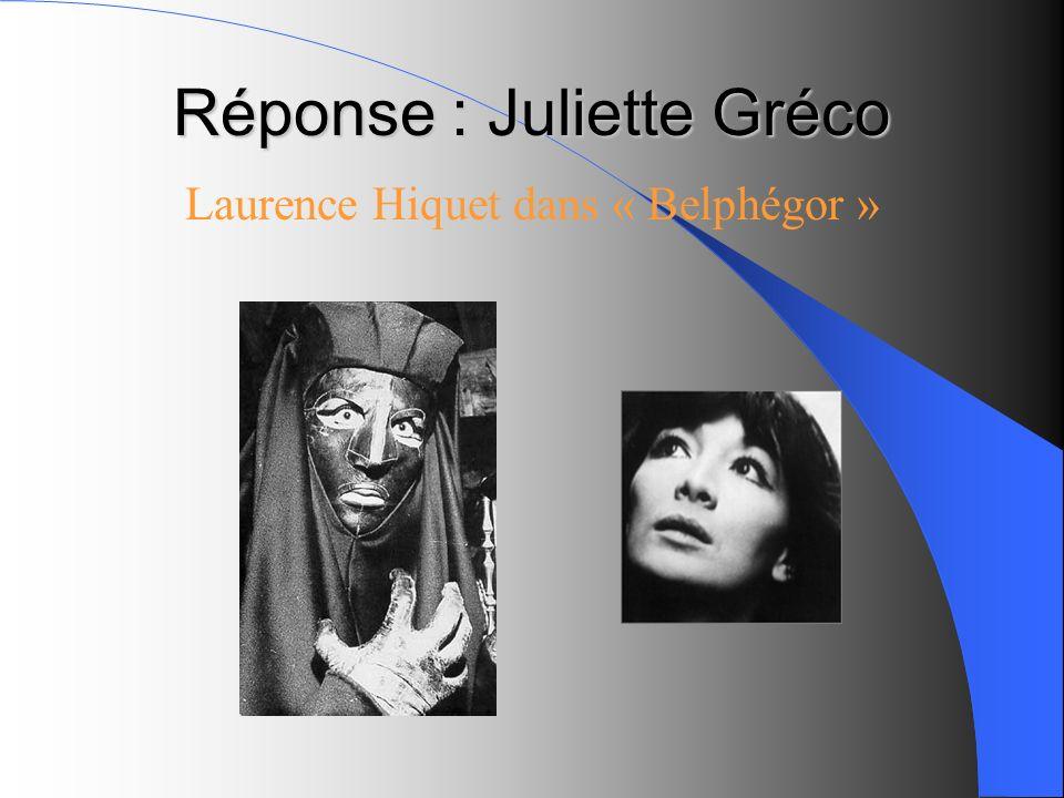 Réponse : Juliette Gréco