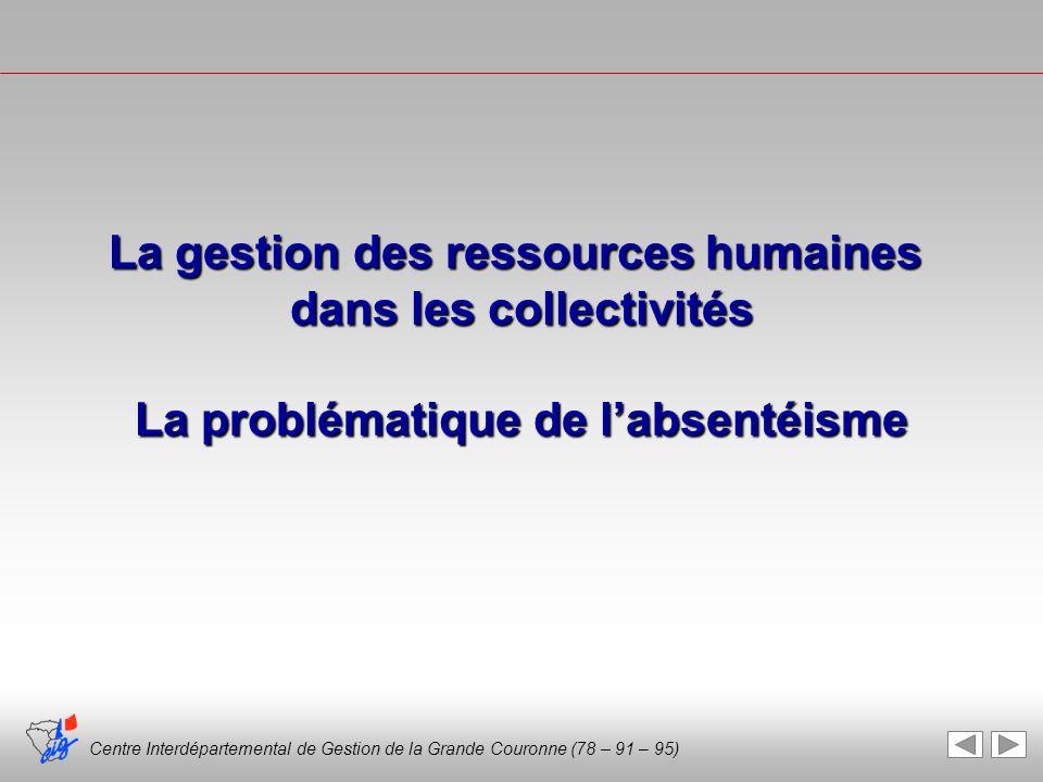 La gestion des ressources humaines dans les collectivités