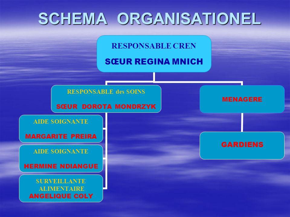 SCHEMA ORGANISATIONEL