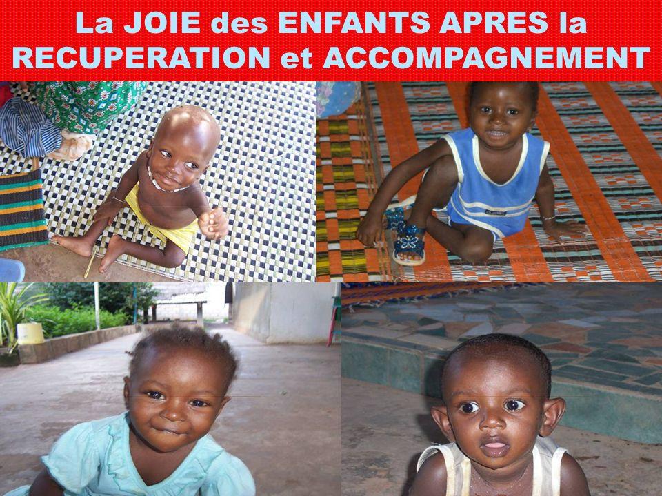 La JOIE des ENFANTS APRES la RECUPERATION et ACCOMPAGNEMENT