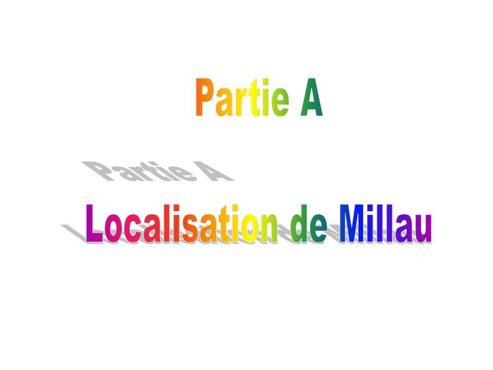 Localisation de Millau