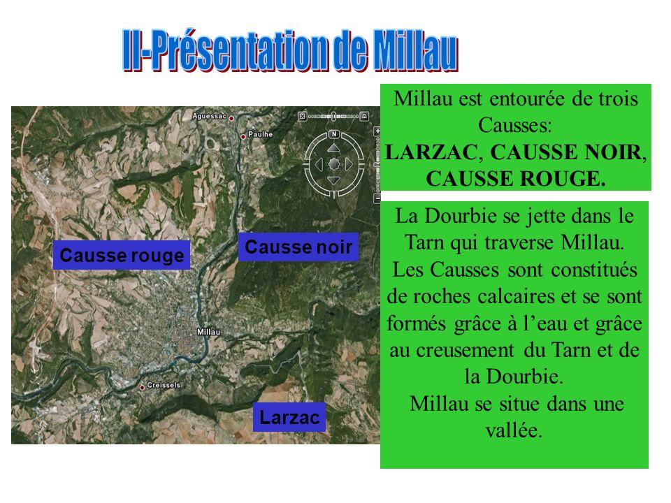 II-Présentation de Millau