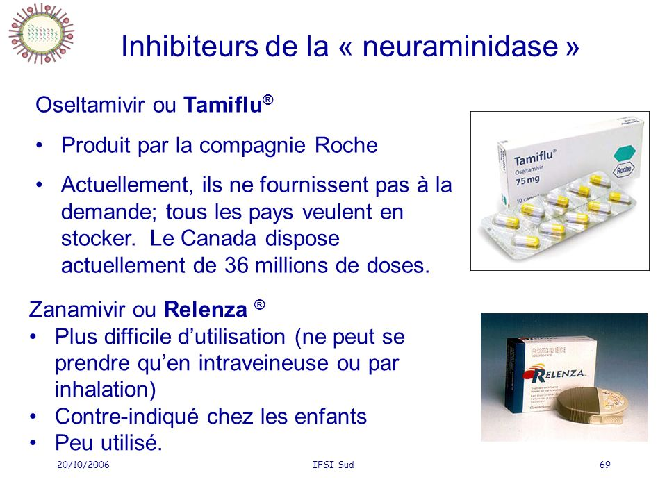 Inhibiteurs de la « neuraminidase »