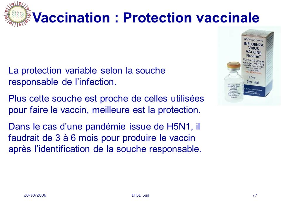 Vaccination : Protection vaccinale