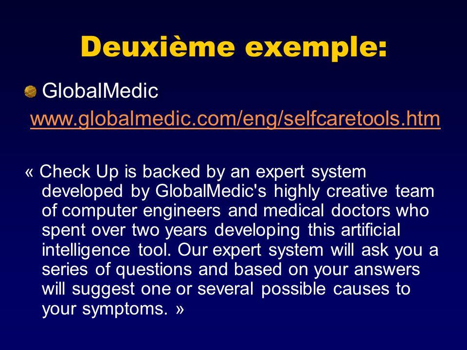 Deuxième exemple: GlobalMedic