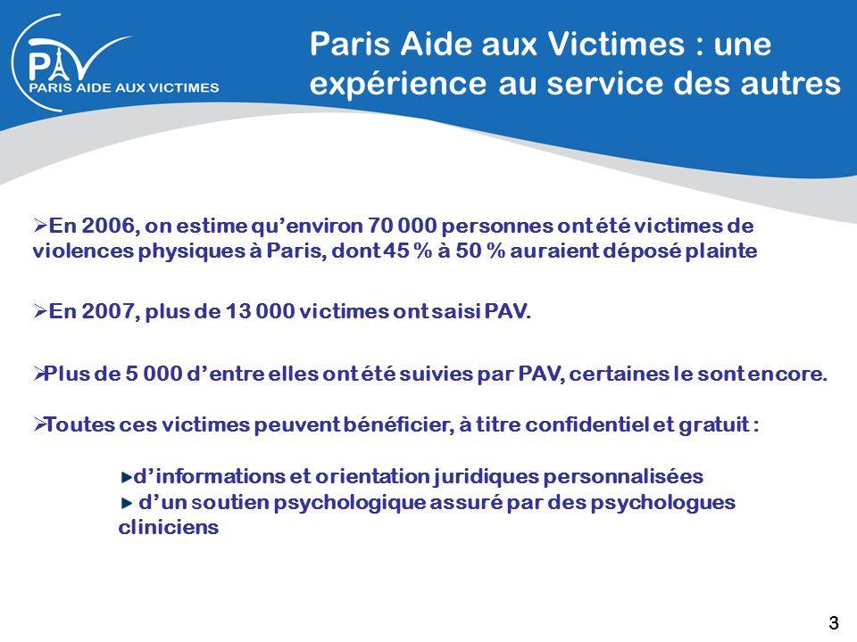 Paris Aide aux Victimes : une expérience au service des autres