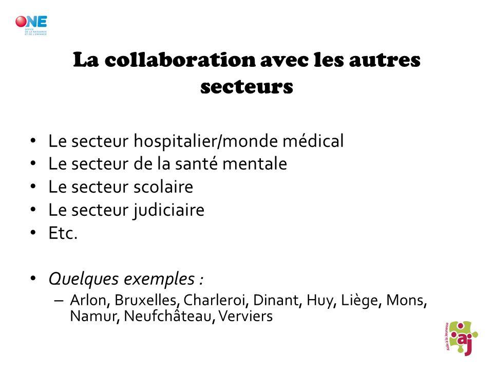 La collaboration avec les autres secteurs