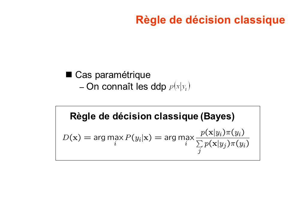 Règle de décision classique