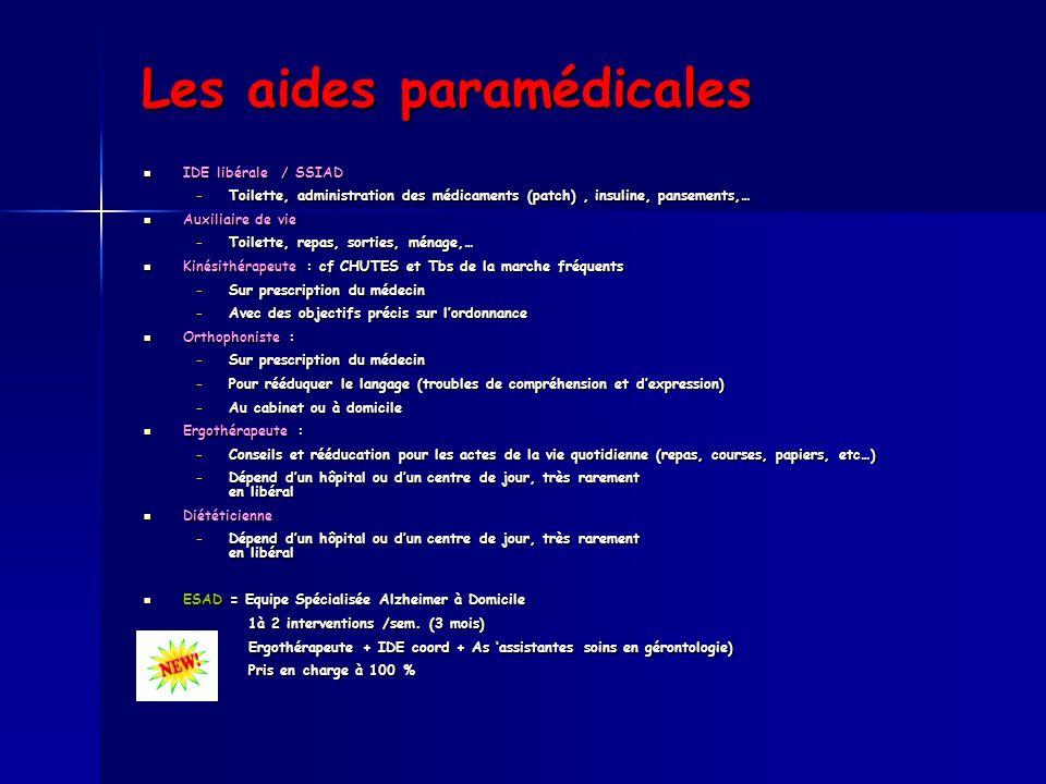 Les aides paramédicales
