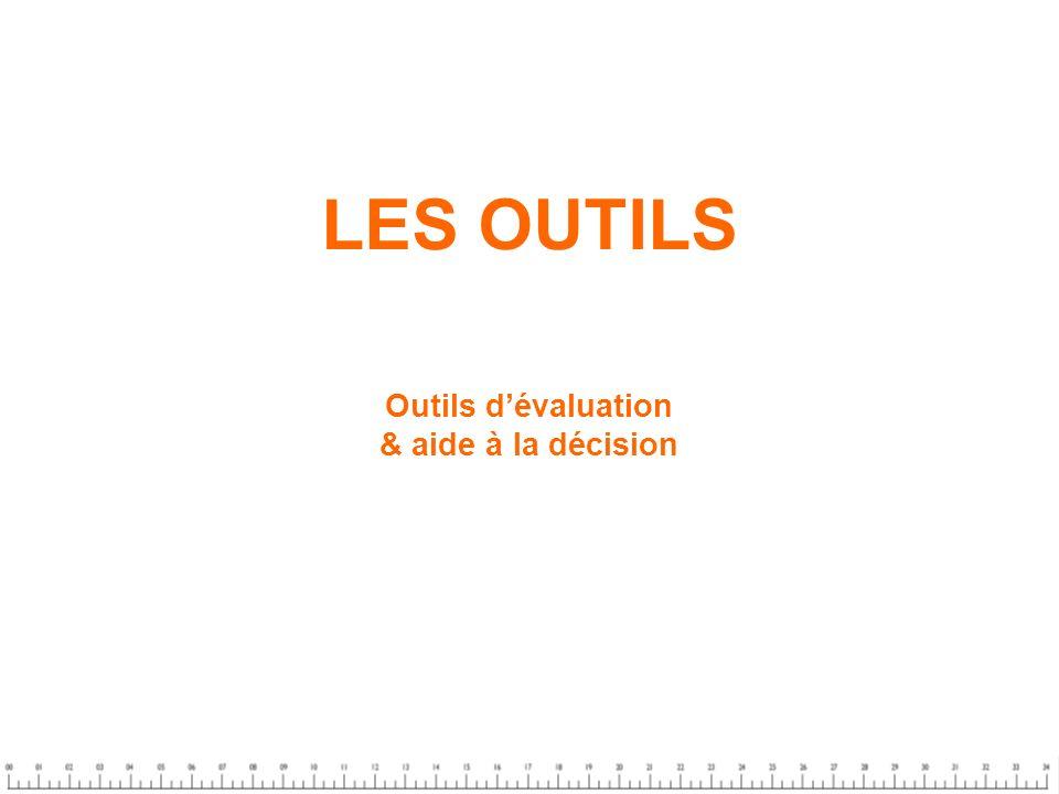 LES OUTILS Outils d'évaluation & aide à la décision