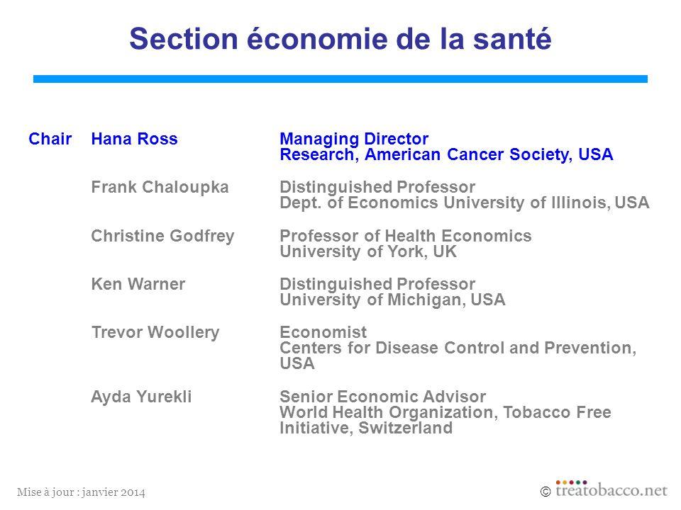 Section économie de la santé