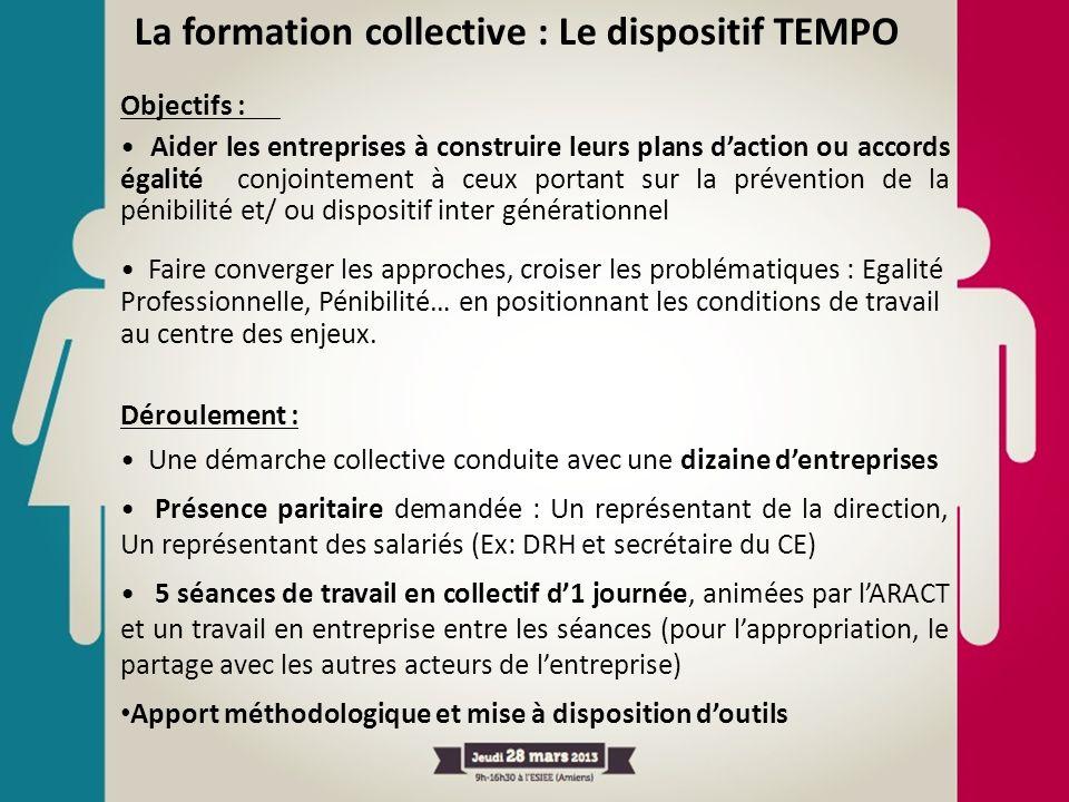 La formation collective : Le dispositif TEMPO