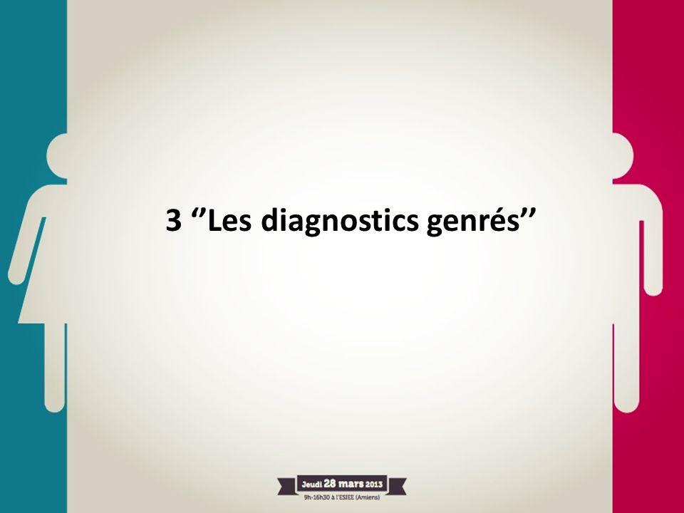 3 ''Les diagnostics genrés''