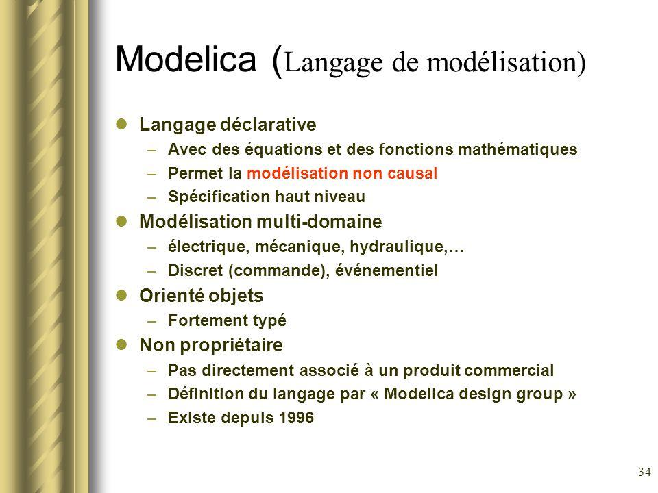Modelica (Langage de modélisation)