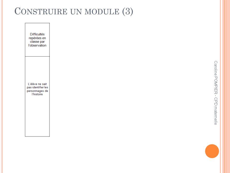 Construire un module (3)