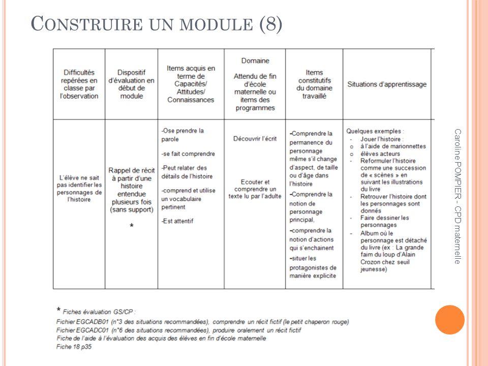 Construire un module (8)