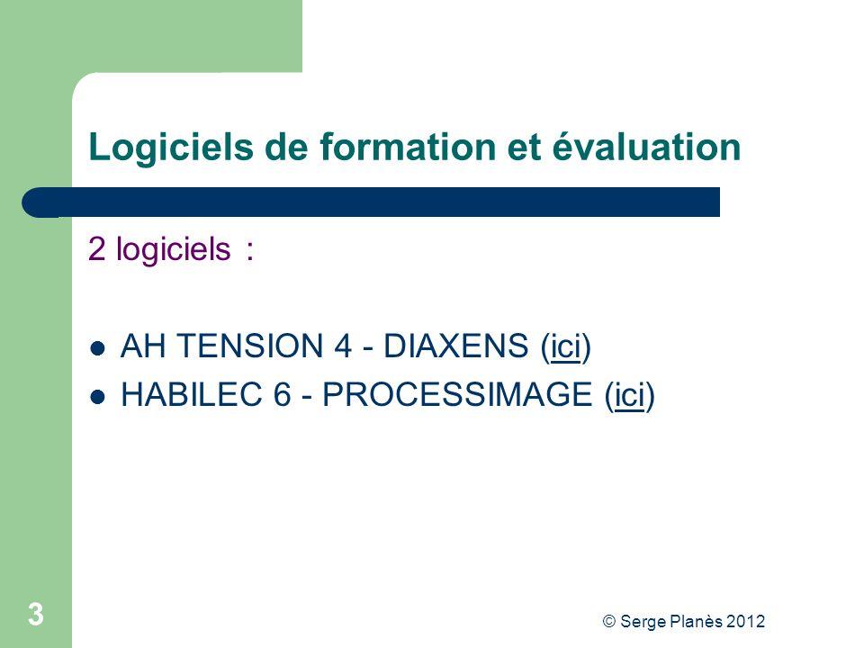 Logiciels de formation et évaluation