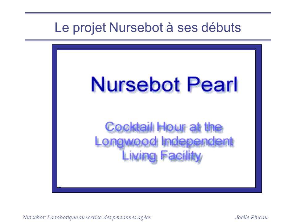 Le projet Nursebot à ses débuts