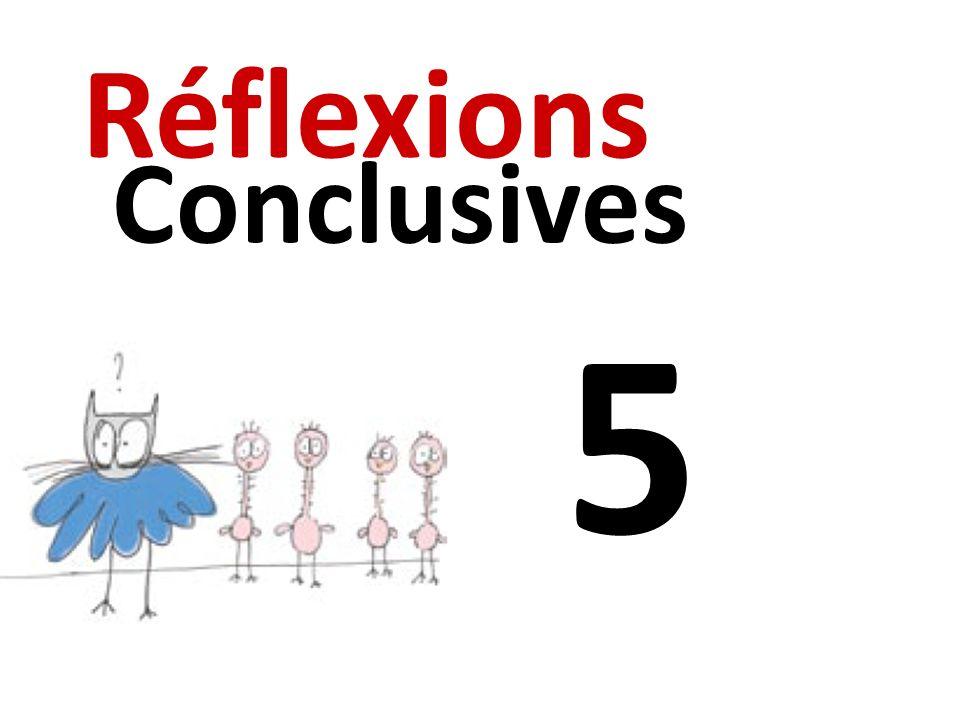 Réflexions Conclusives 5