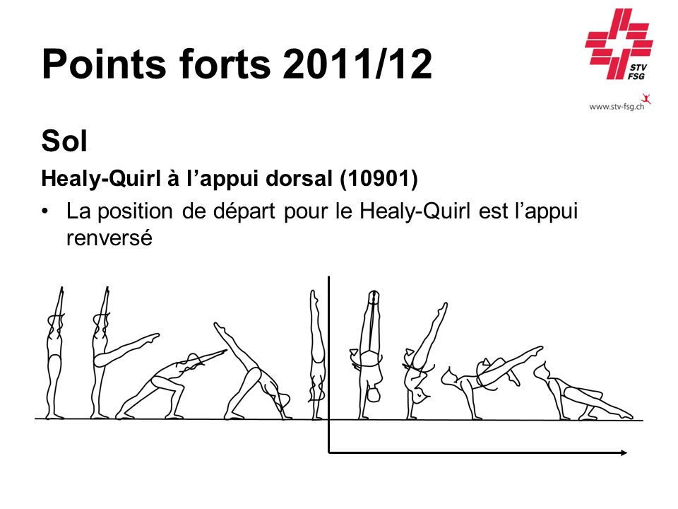 Points forts 2011/12 Sol Healy-Quirl à l'appui dorsal (10901)