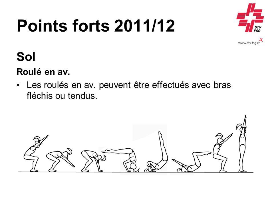 Points forts 2011/12 Sol Roulé en av.