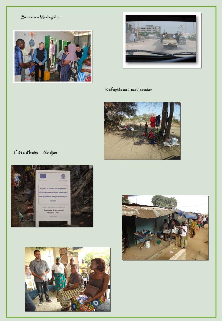 Somalie - Modagishiu Réfugiés au Sud Soudan Côte d'Ivoire – Abidjan