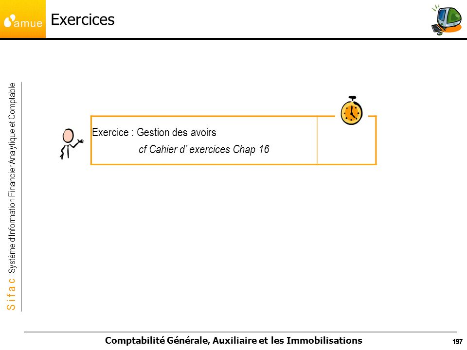 cf Cahier d' exercices Chap 16