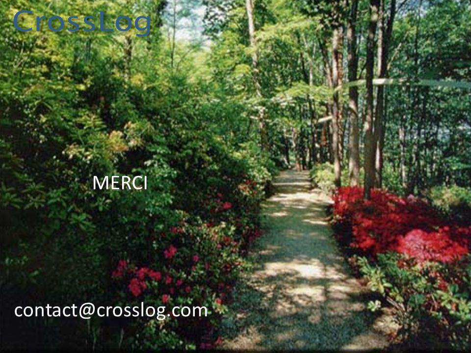 MERCI contact@crosslog.com
