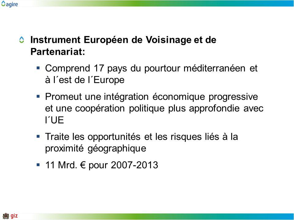 Instrument Européen de Voisinage et de Partenariat: