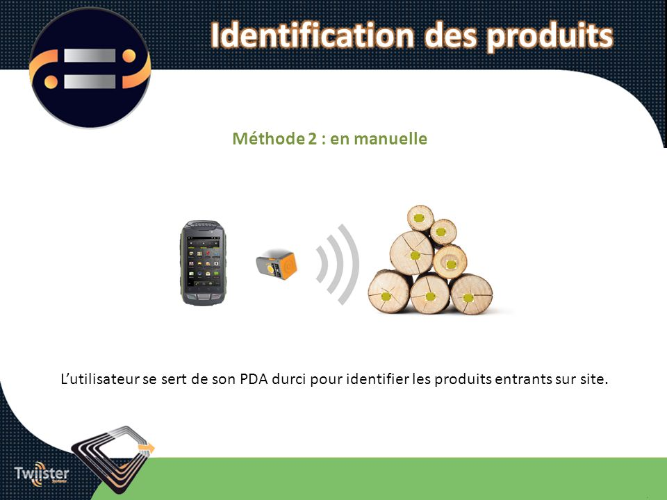 Identification des produits