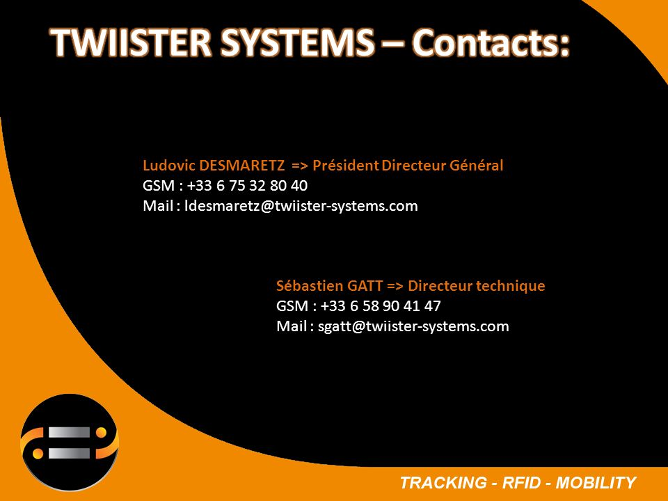 TWIISTER SYSTEMS – Contacts: