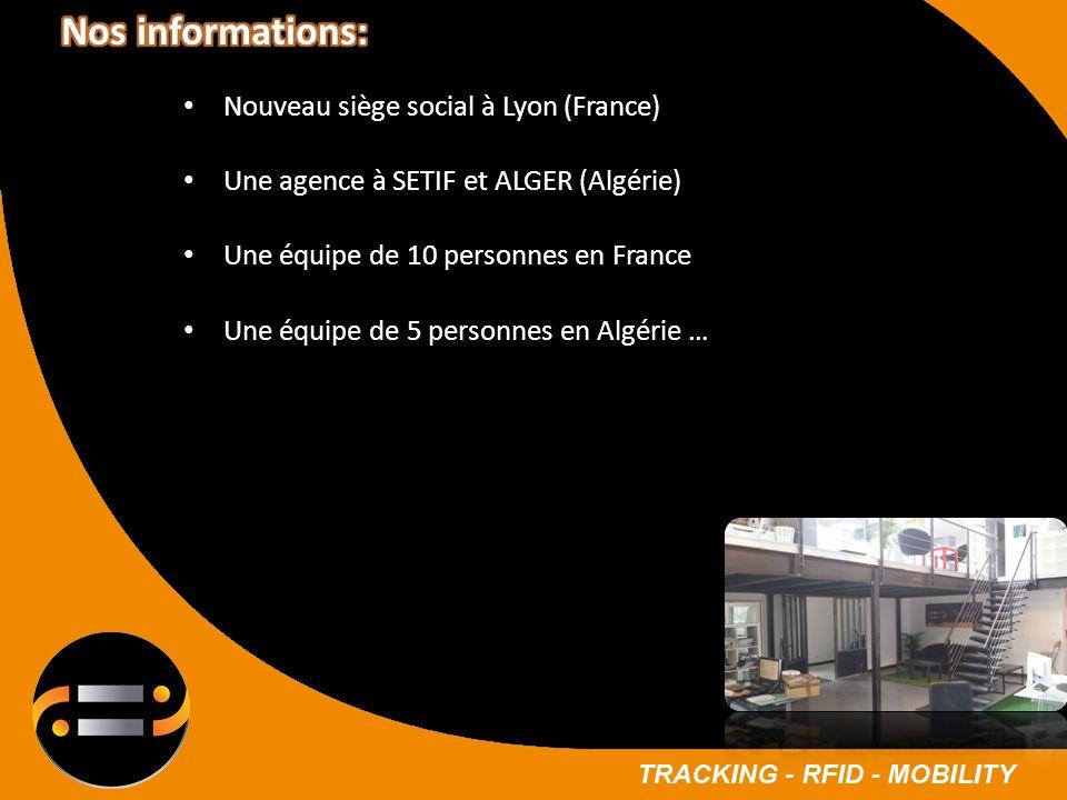 Nos informations: Nouveau siège social à Lyon (France)