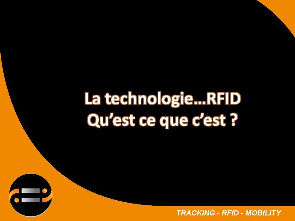 La technologie…RFID Qu'est ce que c'est