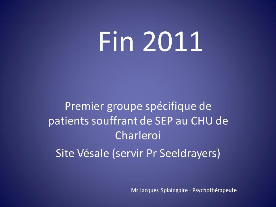 Site Vésale (servir Pr Seeldrayers)