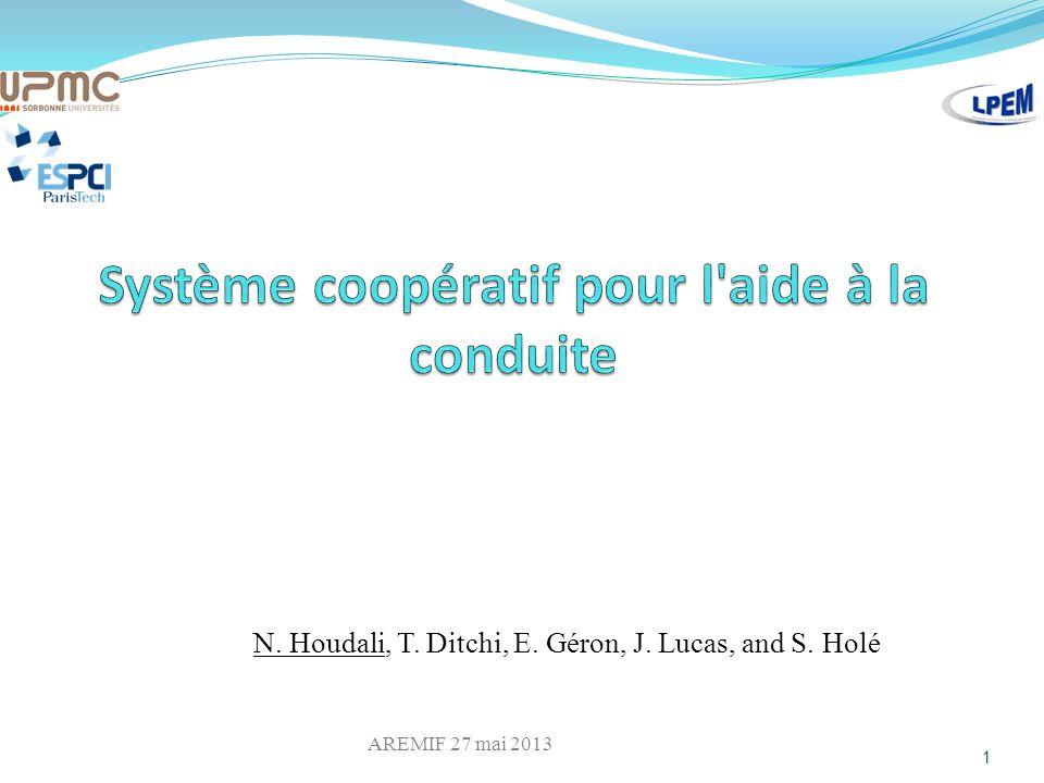 Système coopératif pour l aide à la conduite