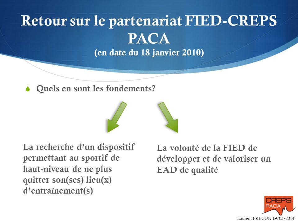 Retour sur le partenariat FIED-CREPS PACA (en date du 18 janvier 2010)