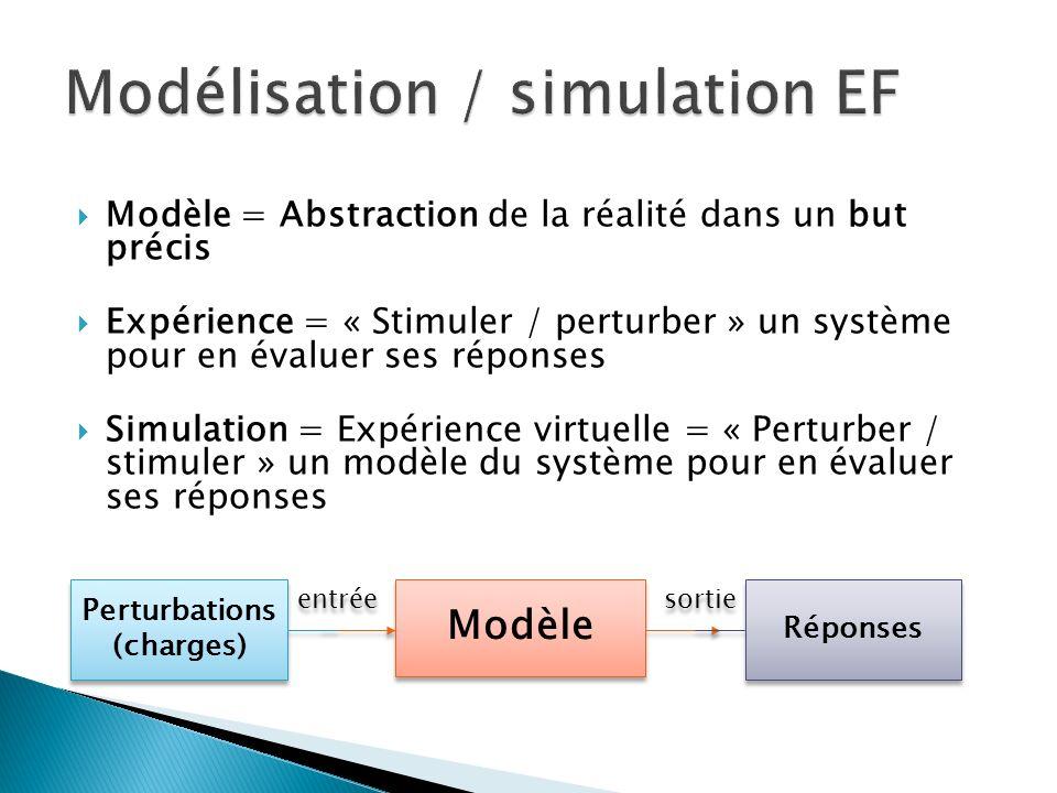 Modélisation / simulation EF