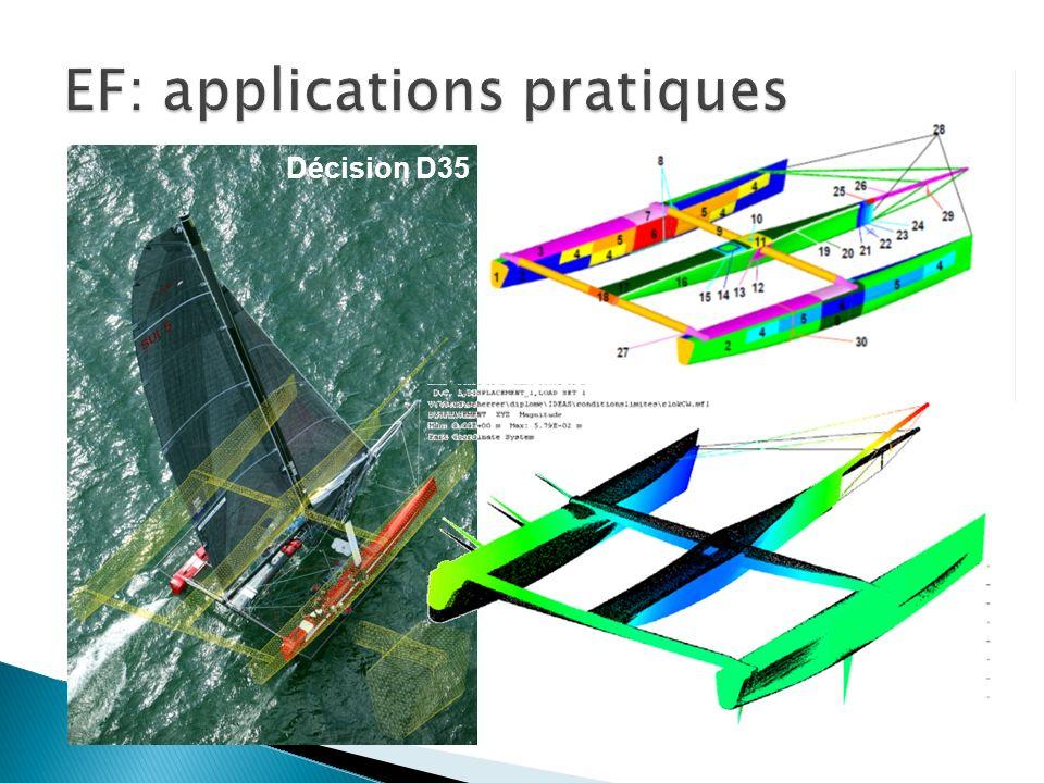 EF: applications pratiques
